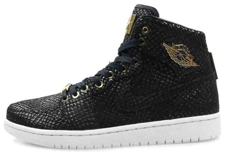 c2d420bc3f9028 Nike Air Jordan 1 Pinnacle Black Size 10.5 13 UK 45.5 48.5 EUR 24k Gold
