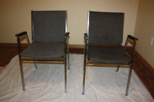 Reception room chairs