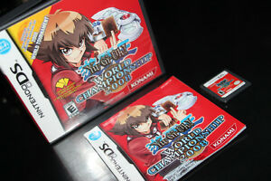 NINTENDO DS+2DS+3DS-YU GI OH-WORLD CHAMPIONSHIP 2008