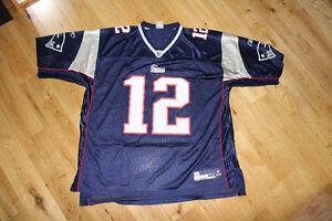 "worn once genuine New England Patriots ""Brady"" football jersey Kitchener / Waterloo Kitchener Area image 1"