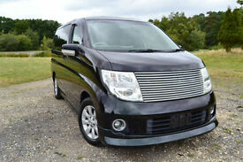 FRESH IMPORT 05 FACE LIFT NISSAN ELGRAND XL BUSINESS EDITION V6 FOUR WHEEL DRIVE