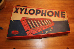 Old Child's Toy Glass Xylophone London Ontario image 2