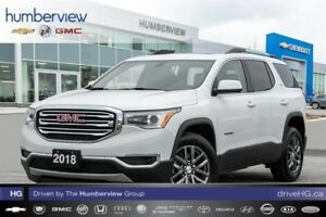 2018 GMC Acadia SLT-1 NAVIGATION|BACKUP CAM|PANO ROOF|LEATHER
