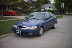 2000 Saab 9-3 coupe fwd 5 spd (Fresh Safety)