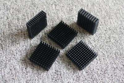 5Pcs Heat Sink Heatsink 40mm x 40mm x11mm Black Aluminum Radiator