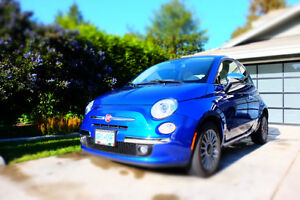 2013 Fiat 500c Louge Convertible
