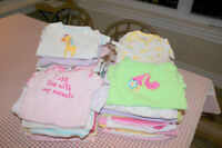 Baby Newborn Onesies and 6-12 month sizing