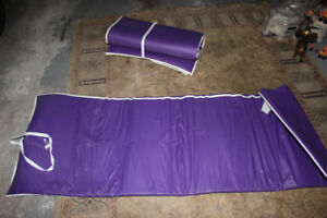 Body size exercise mats