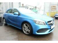 2016 BLUE MERCEDES A200D 2.1 AMG LINE DIESEL AUTO CAR FINANCE FR £241 PCM
