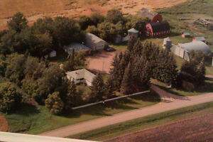 2 Quarters Agricultural land with Farm Yard.