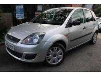 2006 Ford Fiesta 1.25 STYLE Silver 5 Dr FFSH SUPER LOW MILEAGE FINANCE AVAILABLE