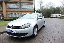 2010 VW GOLF VI 1.6TDI Bluemotion Left hand drive lhd UK Registered