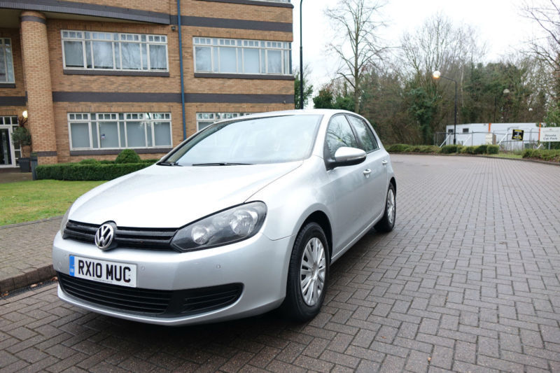 cd84cbb87a 2010 VW GOLF VI 1.6TDI Bluemotion Left hand drive lhd UK Registered