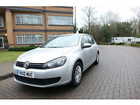 2010 VW GOLF VI 1.6TDI Bluemotion Left hand drive lhd UK Registered