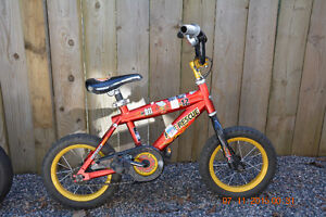 Fire Rescue Bike with training wheels 12""