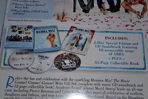 Mamma Mia Gift Set - DVD, CD, BOOK, SEALED, Box set never opened St. John's Newfoundland image 3
