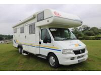 Eura Mobil 770EB 7 Berth Motorhome Large Garage MANUAL 2003/03