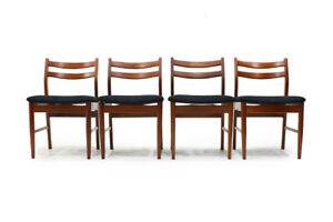 Set of four MCM Dinning chairs
