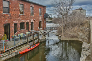 True Waterfront Condo, canoe from your deck.