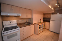 Beautiful and immaculately clean one bedroom basement apartment!