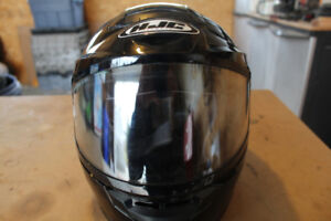Snow mobile and dirt bike helmets