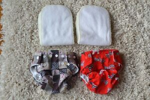 Kawaii Baby Cloth Diapers, excellent condition - barely used!
