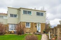 Renovated end unit townhome. 3 bed, 2bath.