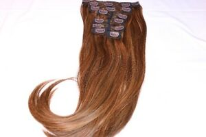 Real Human Remy Hair - 3 Tone Brown (Highlight)