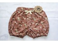 Cotton Baby Bloomers,Unisex baby shorts, Newborn baby gift, Baby /toddler bloomers , Summer