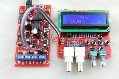 Avr Dds Function Signal Generator Module Sine Triangle Square Wave Power Module