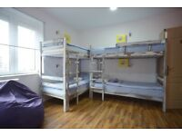NO DEPOSIT! VERY CHEAP BEDS IN A FLAT SHARE IN ZONE 1!