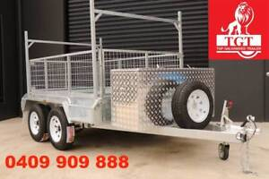 10x5 Box Trailer With Ladder Racks Holders Hot Dip Galvanised Cranbourne Casey Area Preview