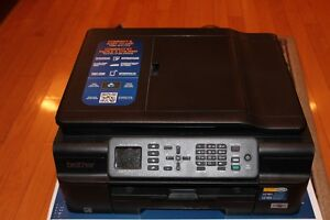 FOR SALE : Brother Printer & Scanner (incl. new black cartridge)