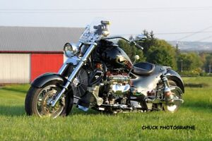 Boss Hoss Motorcycle GM Chevrolet 350 V8 Engine 385hp Motor