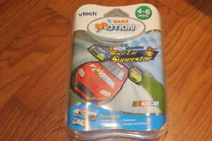 VTech V-Motion Smartridge: Nascar RACE CAR SUPERSTAR BNIB