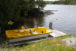 4 seater Pedal Boat for Sale, with canopy top