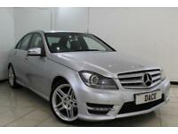 2011 61 MERCEDES-BENZ C CLASS 2.1 C220 CDI BLUEEFFICIENCY SPORT ED125 4DR 170 BH