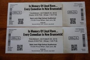2 Tickets to Every Comedian in New Brunswick Show Tonight