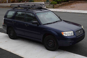 2006 Subaru Forester 2.5X with Winter Tires