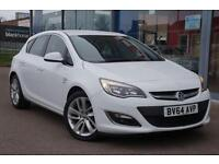 2014 VAUXHALL ASTRA 1.6 CDTi 16V ecoFLEX 136 SRi GBP20 TAX, B T and ALLOYS