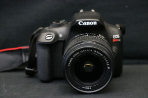Canon Rebel T6 18MP DSLR Camera (#16804)