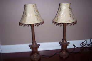 Buffet Lamps For Sale $20 For the Pair