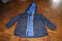 Rain Jacket, GAP, Navy Blue - 2T