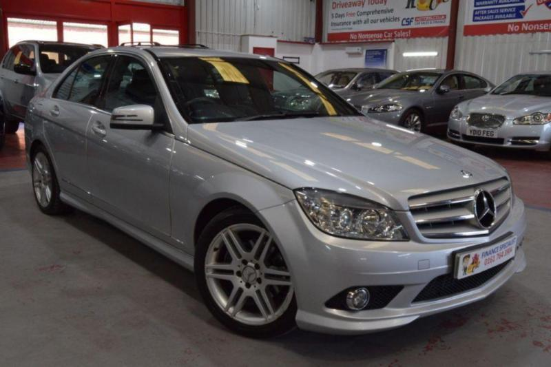 2009 09 mercedes benz c class 2 1 c200 cdi sport 4d auto 135 bhp diesel in bury manchester. Black Bedroom Furniture Sets. Home Design Ideas