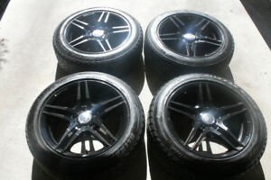 Mercedes-Benz Replica Rims and Bridgestone Blizzak  225/50/17