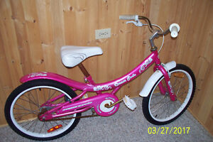 Pink Chopper Bicycle