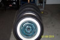 Wide Whitewall Tires