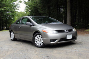 2007 Honda Civic DX-G Coupe | Great for back-to-school!