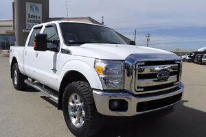 2015 Ford F-350 Lariat, Diesel, 4x4, Nav, Leather $49,987