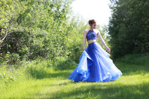 Grad Dress 2 Piece Size 4